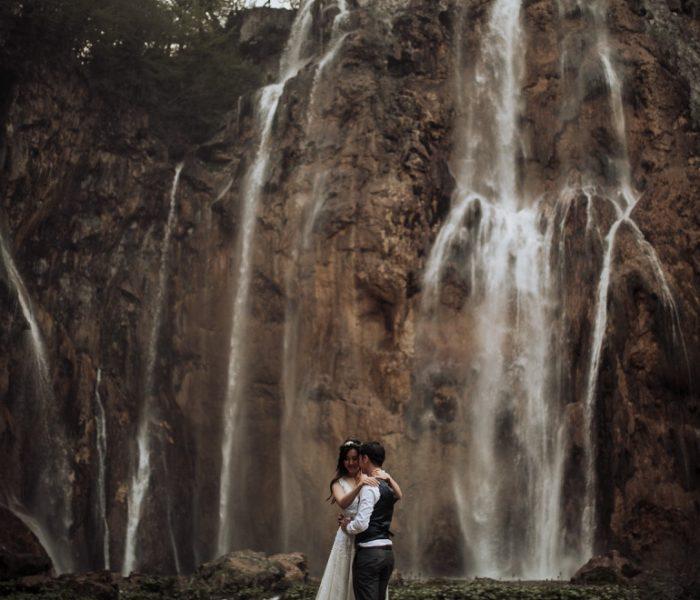 Plitvice Lakes elopement